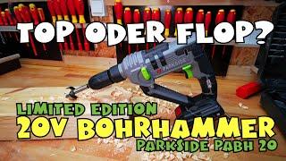 Limited Edition: LIDL - PARKSIDE® Akku-Bohrhammer PABH 20-Li