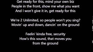 2 Unlimited - Get Ready - Lyrics Rolling