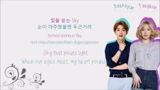 BAEKHYUN 백현 & TAEYEON 태연 - Beautiful & I (Mashup) Color-Coded-Lyrics Han l Rom l Eng 가사