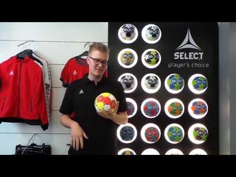 SELECT Maxi Grip - der erste selbstklebende Handball!