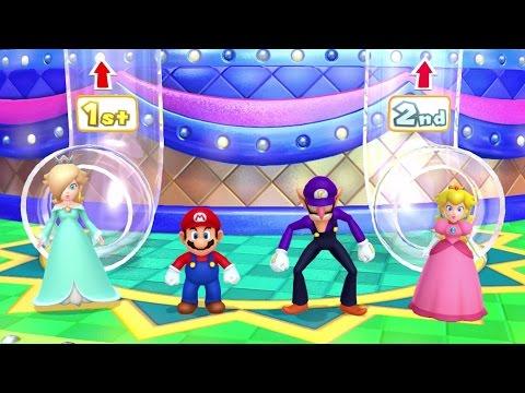 Mario Party 9 Garden Battle #7 King Bomb-omb vs Whomp Gameplay