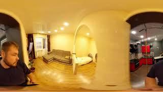 1 комнатная квартира на берегу Ангары (формат 360 градусов)