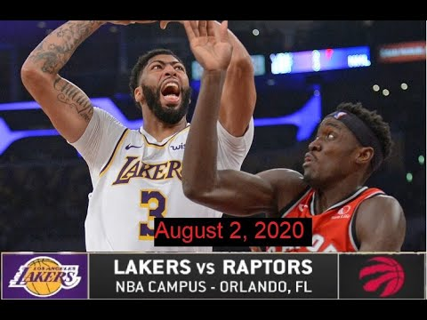 Lakers vs Raptors Full Highlights | Lakers Highlights | Aug 2 2020