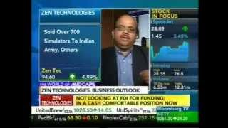 Bloomberg TV Zen Technologies CMD, Ashok Atluri's Interview