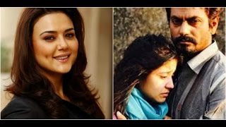 Preity Zinta Meets A PR Agency  Film Haramkhor Starring Nawazuddin Siddiqui Screened At Mumbai