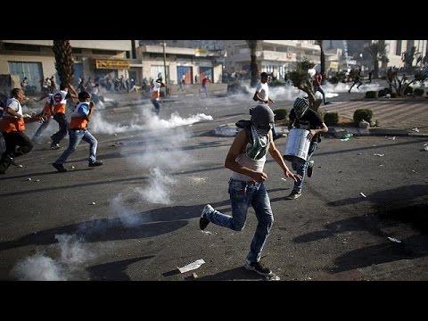 Cinco palestinos muertos, un centenar de heridos y un soldado israelí apuñalado en el Día de la Ira
