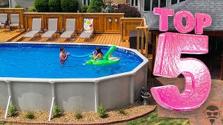 Top 5 Best Above Ground Pools In 2020