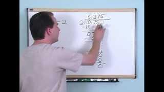 Dividing Decimals - 5th Grade Math