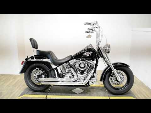 2005 Harley-Davidson FLSTF/FLSTFI Fat Boy® in Wauconda, Illinois - Video 1