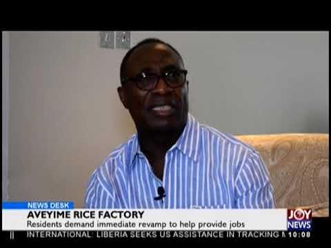 Aveyime Rice Factory - News Desk on JoyNews (24-9-18)