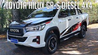 Avaliação: Toyota Hilux GR-S Diesel 4x4
