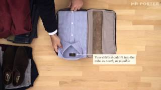How To Pack With Tumi   MR PORTER