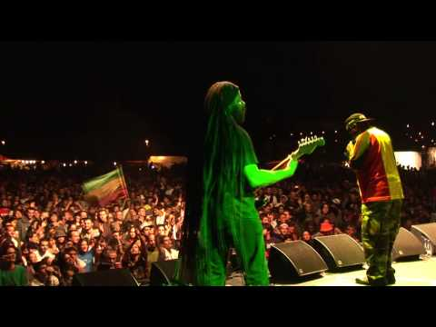 Fully Fullwood Band en el Foundation Reggae Festival 2009