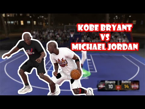 NBA 2K20   Kobe Bryant VS Michael Jordan   1 on 1 Black Top