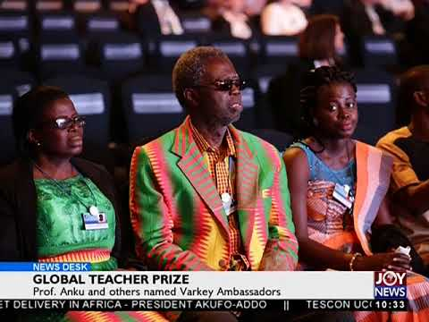 Global Teacher Prize - News Desk on Joy News (26-3-18)