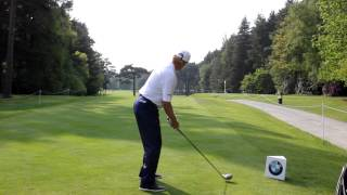 Ernie Els Crushes Driver At BMW PGA