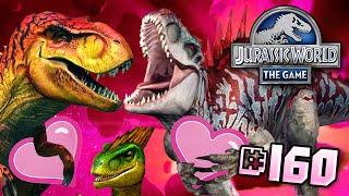 Dinosaur Love!! || Jurassic World - The Game - Ep 160 HD