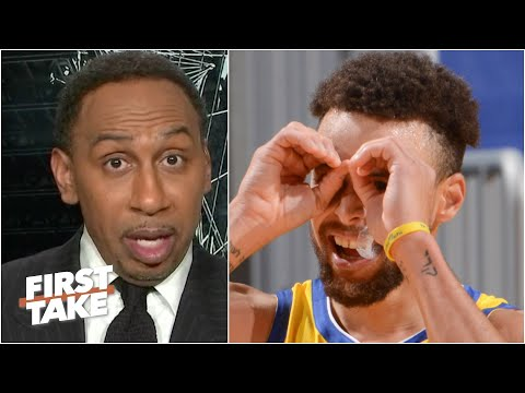 'I've never seen a shooter greater than Steph Curry' - Stephen A. reacts to Curry's 62-point game