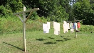 How To Make - Build A Clothes Line By Jon Peters