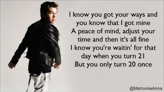 Austin Mahone - Love You Anyways ft. Rob Villa (Lyrics)