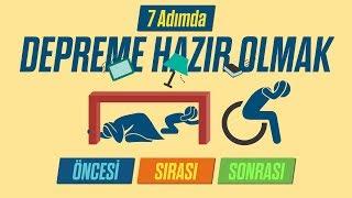 7 Adımda DEPREME HAZIR OLMAK
