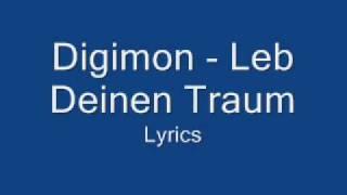 "Video thumbnail of ""Digimon - Leb Deinen Traum - Lyrics"""