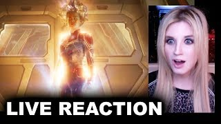 Captain Marvel Trailer 2 REACTION