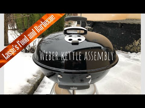 Unboxing and how to assemble a 22 inch Weber (compact) Kettle