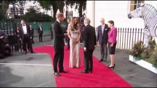 Kate Middleton Steps Out In Jenny Packham