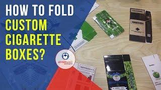 How to Fold Custom Cigarette Boxes? – Emenac Packaging