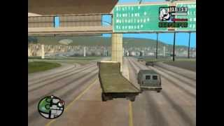 GTA San Andreas how to carry cars