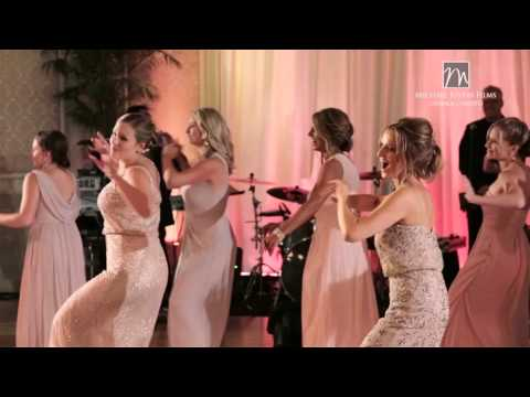 Surprise Flash Mob Wedding Dance