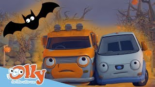 Olly the Little White Van - The Bumpton Ghost & Other Spooky Stories | It's #Halloween!