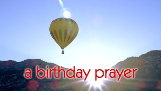 A Birthday Prayer Blessing Message