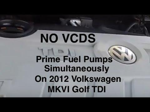 How to prime injection pump TDI - смотреть онлайн на Hah Life
