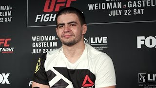 Junior Albini Hoping to Buy 2-Year-Old Daughter First Toy after UFC on FOX 25 - MMA Fighting