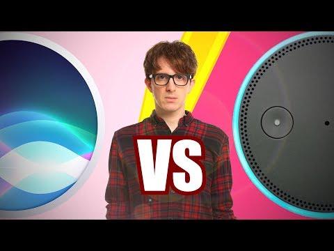 Siri vs Alexa (видео)