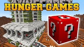 Minecraft: PLANET MARS HUNGER GAMES - Lucky Block Mod - Modded Mini-Game