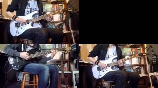Sum 41 - Pain For Pleasure (3 electric guitars + bass cover)