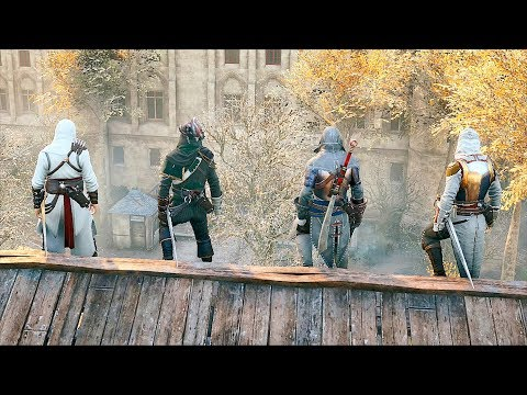 Assassin's Creed Unity Public Co Op & Stealth Kills Ultra Settings