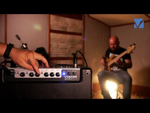 Tech 21 VT Bass 200 Bass Amplifier Video Test
