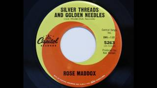 Rose Maddox - Silver Threads And Golden Needles (Capitol 5263)