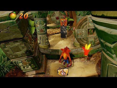 Gameplay de Crash Bandicoot N. Sane Trilogy