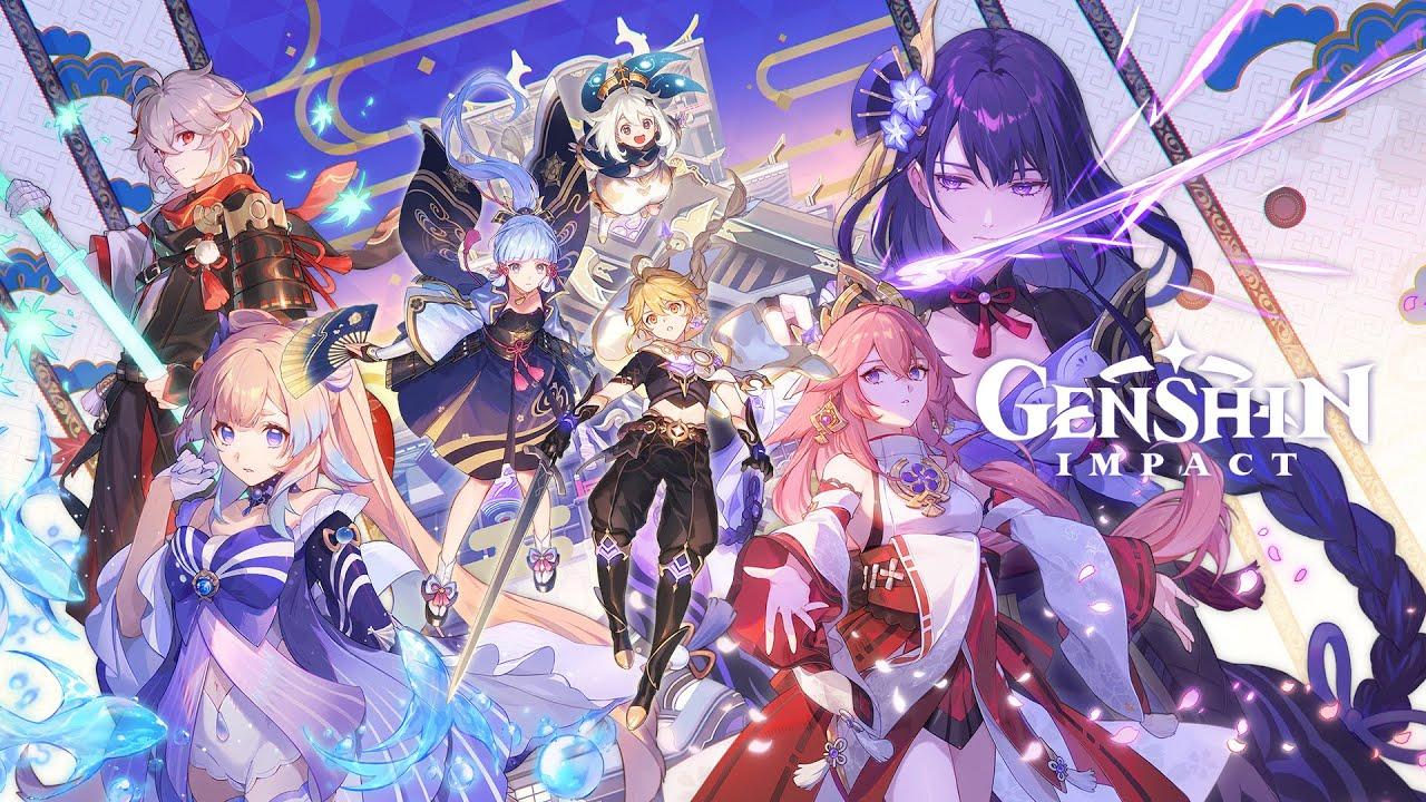La Versione 2.1 di Genshin Impact arriverà a Settembre con nuove isole e personaggi