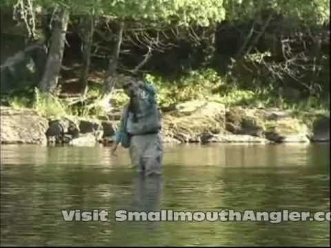 Stream Smallmouth Fishing with Tim Holschlag