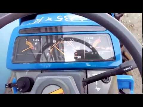 Обзор трактора tractor iseki sial17 - start