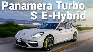 Porsche Panamera Turbo S E-Hybrid -  El mejor sedán del mundo.   Autocosmos