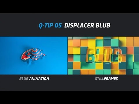 Cinema 4D Tutorial : QUICK TIP : DISPLACER BLUB
