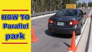HOW TO PARALLEL PARK/PASS DRIVING TEST/AUTO TIPS