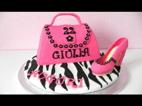 Torta borsa e scarpa